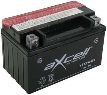Batterie YTX7A-BS AXCELL Shineray XY250STXE