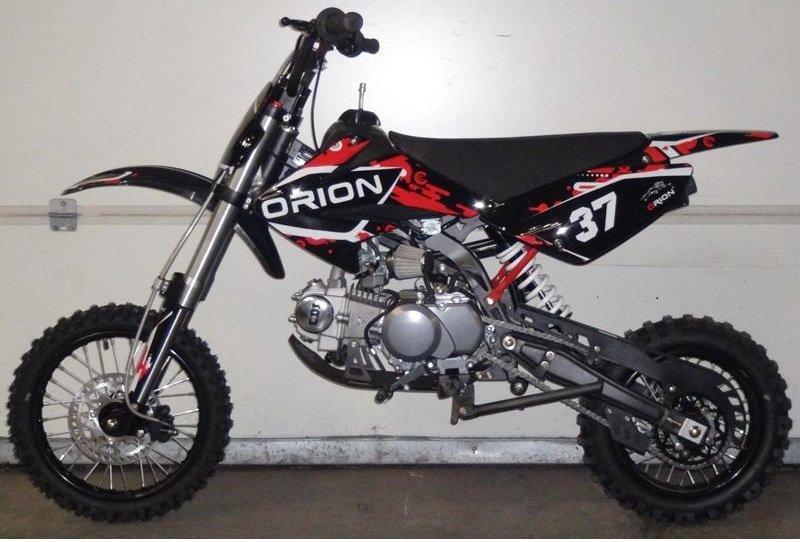 Dirt Bike AGB37 CRF1 Orion 125cc 14/12 Noir/Rouge