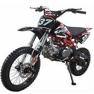 Dirt Bike 125cc CRF1 APOLLO ORION 14/12 Noir/Rouge