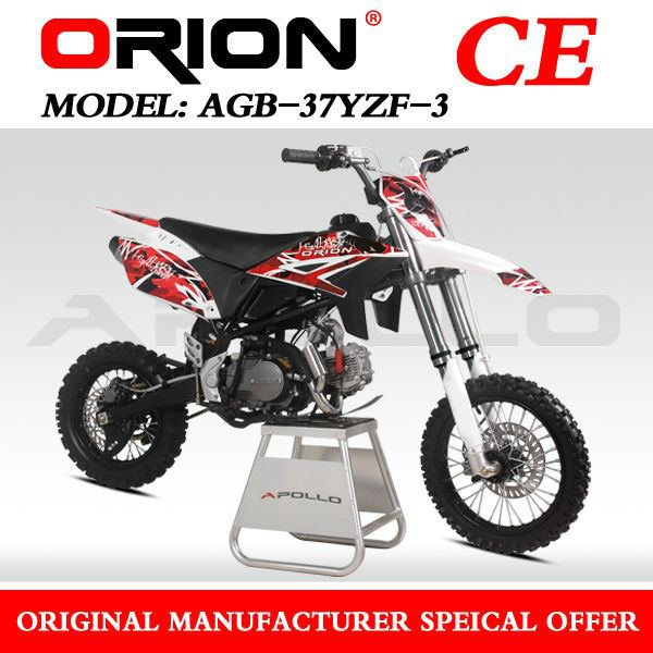 Dirt Bike CRF3 APOLLO ORION 125cc 17/14 Rouge
