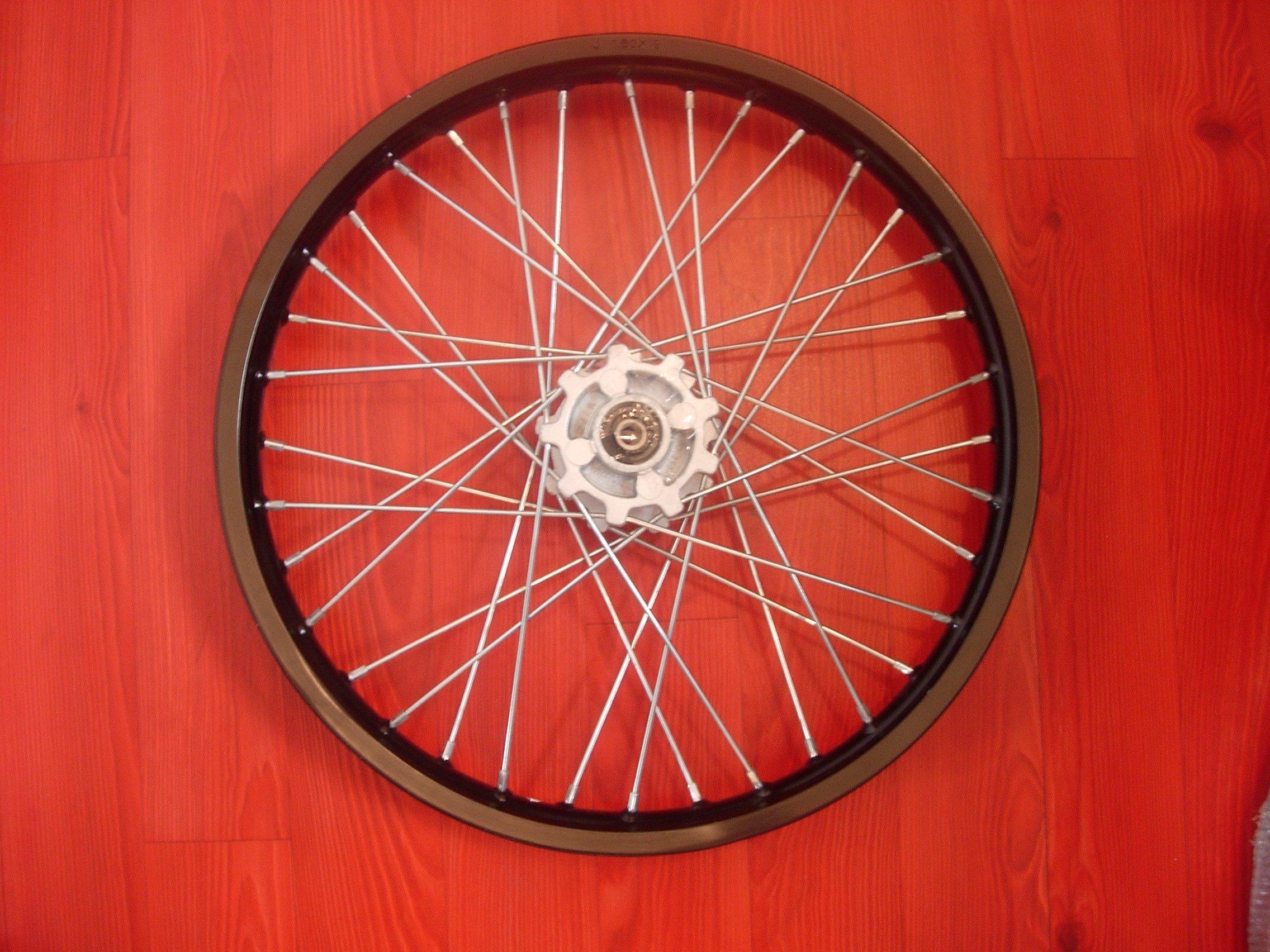 jante avant 17 pouces axe 12 dirt bike agb29. Black Bedroom Furniture Sets. Home Design Ideas