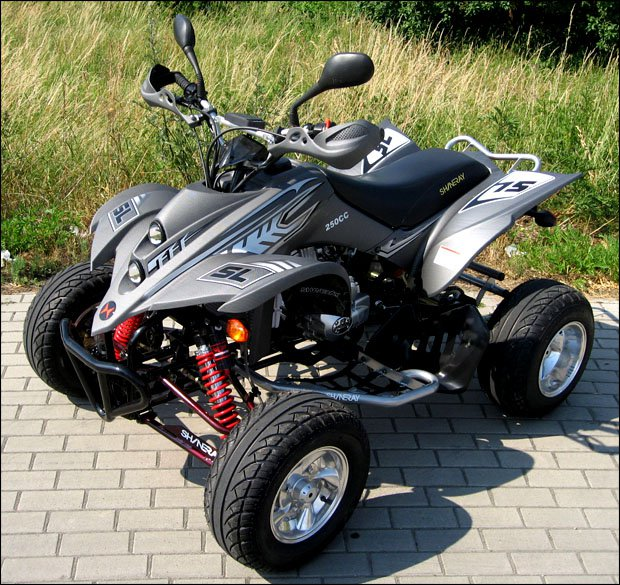 Quad SHINERAY ST9E-STIXE CARBONE 250cc