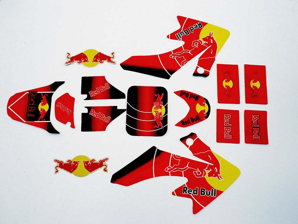 Stickers Red Bull CRF50