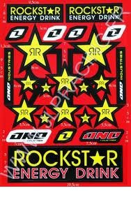 Stickers Rock Star Energy Drink
