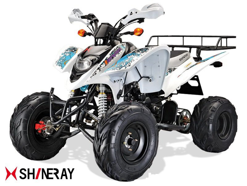 Quad Shineray XY250STXE 250cc Blanc