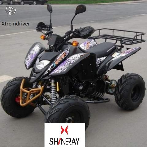 Quad SHINERAY XY250STXE 250cc Noir