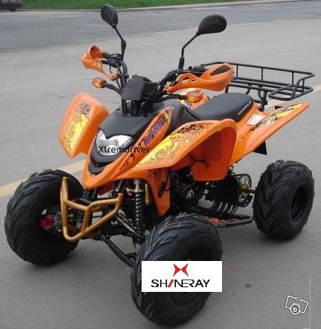 Quad Shineray XY250STXE 250cc Orange