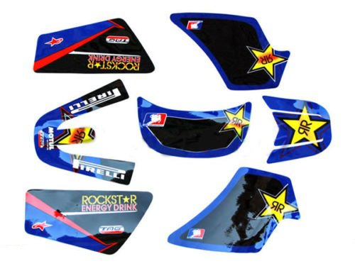 Kit stickers ROCKSTAR PIWI 50 YAMAHA 3M